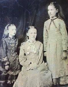 Carrie, Mary, and Laura Ingalls
