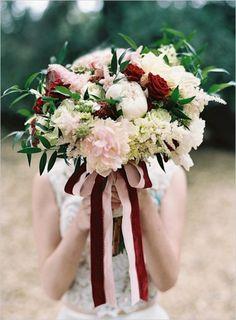 Pantone's 2015 Color Of The Year: 33 Marsala Wedding Ideas | Weddingomania
