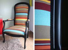 """refaire un vieux fauteuil """"Voltaire"""""""