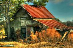 Caudell Road Barn in Homer, Georgia