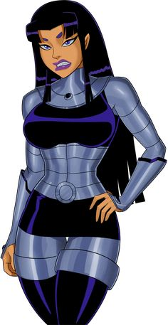 Dc Comics Girls, Dc Comics Art, Marvel Dc Comics, Teen Titans Blackfire, Female Comic Characters, Chibi Marvel, Teen Titans Fanart, Marvel Couples, Anime Girl Hot