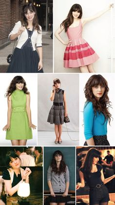 Estilo do ícone: Zooey Deschanel.