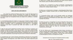 EDGAR RIBEIRO: CORREGEDORA DO TJMA EMITE NOTA DE ESCLARECIMENTO S...