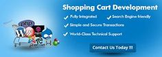 Shopping cart development USA can be done from reliable professional organization with their expert developers.