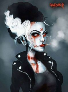 """Miss Punkinstein!  """"Happy ℋαℓℓℴωℯℯη""""  ♫ If you know the artist please comment."""