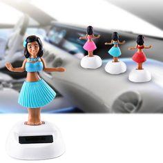 Solar Energy Swinging testa bambola Automotive Interior Accessories bambola ornamenti decorazione bel dono Festival Con imballaggio