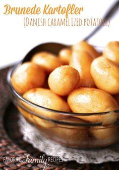 Brunede Kartofler Caramelized Browned Potatoes
