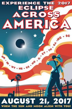 Eclipse New Design! Created by artist Tyler Nordgren Eclipse Across America posters are printed on 12 x semi-gloss cover stock. - New Design! Created by artist Tyler Nordgren Eclipse Across America posters are printed on 12 x semi-gloss cover stock. Nasa Eclipse, Eclipse Book, Solar Eclipse 2017, Urban Decay, Solar Eclipse Activity, Foto Sport, Free Poster Printables, Advantages Of Solar Energy, Solar Eclipse