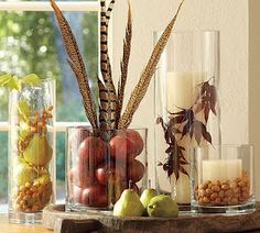 DIY Pottery Barn inspired centerpieces
