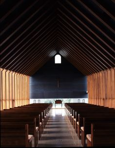 Itami Jun - Church of Sky, Jeju Island, S.Korea / SHINKENCHIKU 2010:02 | JA+U