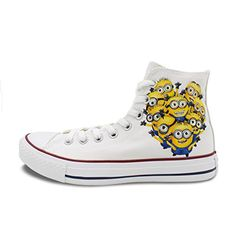 Converse All Star Unisex Minions Gru Hand Painted Chuck Taylor Canvas Shoes