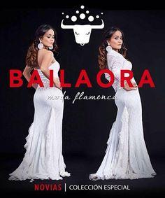 Bailaora Moda Flamenca Novias ¿Imaginaste casarte de Flamenca? ¡Bailaora te diseña tu vestido! Pregunta por nuestros diseños exclusivos  info@bailaora.eu www.bailaora.eu