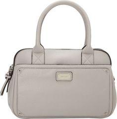 Nine West Handbags Double Vision Satchel Light Paris Mushroom - via eBags.com! $42