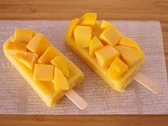 冷凍マンゴーの簡単&濃厚アイスキャンデーの画像