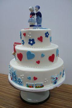 dutch markets wedding cake by CAKE Amsterdam - Cakes by ZOBOT, via Flickr