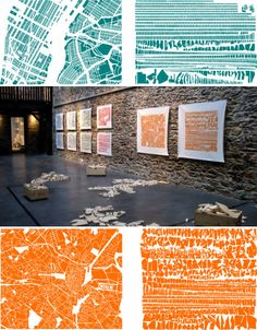 Article on innovative contemporary map artists by S. Rogers titled, Creative cartography: 15 artists transforming maps in Web Urbanist (n.Close-up details of Armelle Caron's reorganized maps. All Meaning, Armelle, Wooden Cutouts, Photo Maps, Travel Illustration, Art Themes, French Artists, Elementary Art, Map Art
