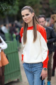 Street Style Paris Fashion Week Spring 2014 - Paris Fashion Week Spring Street Style - Harper's BAZAAR