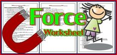 Force WorksheetIncluded:1. Filling in the blanks exercise  20 items2. True or False   10 items3. Fill in the blanks with words given: 5 items4. Multiple choice exercise 20 itemsSub topics: 1. Meaning of force2. The effects of force 3. Frictional force 4.