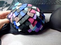 Learn How To Make A Simple, Affordable Scale Mail Bra