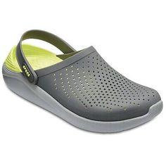 These Crocs LiteRide clogs were created to be worn on your terms, at any pace. Crocs Crocband, Crocs Men, Crocs Classic, Strap Heels, Casual Shoes, Slip On, Grey Light, Slippers, Fashion Shoes