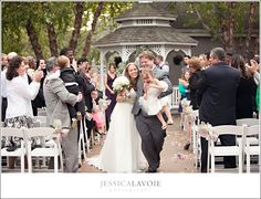 Beautiful Outdoor Ceremony in front of the Gazebo.  Photographed by Jessica Lavoie Photography  #ilovenorthampton