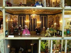 This incredible 18th Century French Chateau. | 41 Dollhouses That Will Make Wish You Were A Tiny Doll
