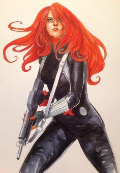 Black Widow - Stephanie Hans