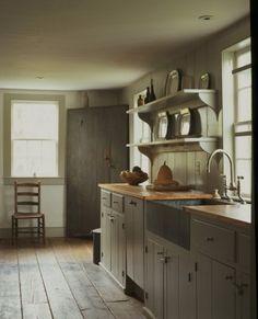 44 best farmhouse kitchen decor and design ideas to fuel your remodel 9 Farmhouse Kitchen Inspiration, Farmhouse Kitchen Decor, Country Kitchen, Farmhouse Interior, Country Farmhouse, Primitive Kitchen Cabinets, French Farmhouse, Modern Country, Country Style