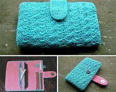 Ravelry: Ladies Phone Wallet pattern by Binita M Crochet Wallet, Crochet Phone Cases, Crochet Pouch, Crochet Purses, Crochet Phone Case Pattern Free, Christmas Knitting Patterns, Crochet Patterns, Pattern Sewing, Purse Patterns