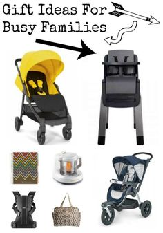 Gift guide for busy families or families on the go with babies toddlers or young kids
