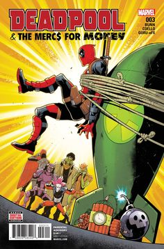 The Mercs have spoken—Deadpool sucks! At being their leader, I mean! Deadpool is still awesome. Please keep buying his comics. Marvel Comic Books, Marvel X, Marvel Characters, Comic Books Art, Book Art, Deadpool Und Spiderman, Deadpool Funny, Batman, Dead Pool