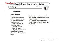 Poulet au boursin cuisine light façon WW 8PP