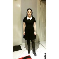 Pin for Later: 12 Easy Costumes You Can Make Using the Ultimate Wardrobe Staple Wednesday Addams