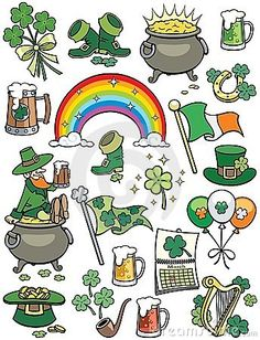 Saint Patrick's Day Elements by Martin Malchev, via Dreamstime