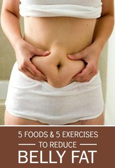 Belly fat : food and exercises