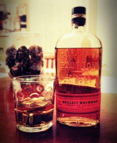 """Two fingers"" of Bulleit Bourbon // #whiskey #bourbon #bulleit"