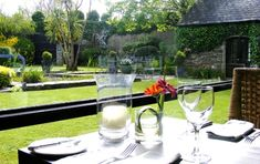 Blairs Cove: Dining Outside Styling A Buffet, House Gardens, Cork Ireland, Blue Books, Al Fresco Dining, Beautiful Gardens, Bliss, Home And Garden, Romantic