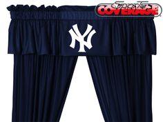 MLB New York Yankees Bed Sheets Set Baseball Bedding King