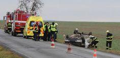 Havárie auta u Chodové Plané