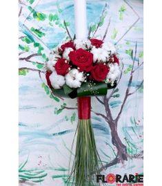Lumanare botez trandafiri rosii si bumbac Terraria, Table Decorations, Home Decor, Plant, Terrariums, Decoration Home, Room Decor, Dinner Table Decorations, Interior Decorating