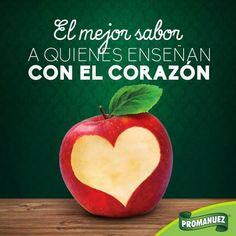 Felicidades a todos los Maestros que asumen con responsabilidad su misión de educadores. ¡Disfruten de su día!  📚  http://www.promanuez.com.mx/productos #AliméntateSanamente #RicoySaludable #Natural
