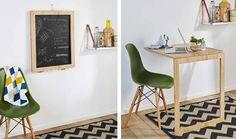 Tuto pour une table escamotable qui fait aussi tableau noir - 18h39.fr