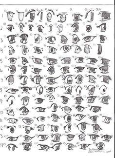 Manga: olhos