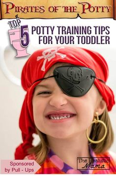 Pirates of the Potty: 5 Potty Training Tips for Toddlers. Finally, a fun spin on potty training that actually works. #PottyTraining #sp