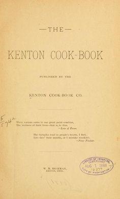 The Kenton cook-book
