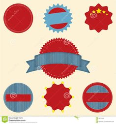 Set Of Blank Retro Vintage Badge Icons For Logo L By Pjirawat Via Dreamstime