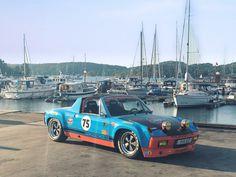 Plane Engine, Classic Race Cars, Martini Racing, Porsche 914, Vw Bugs, Dream Machine, Car In The World, Fast Cars, Sport Cars