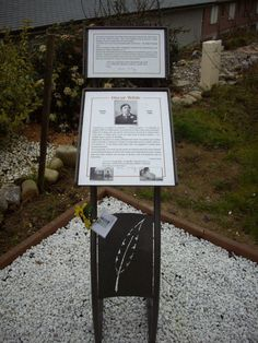 plaque in Normandy for Oscar Wilde