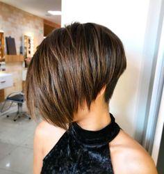Speciaal voor dames met donker bruin haar: 10 stoere korte kapsels in donker bruin. - Kapsels voor haar