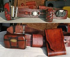How To Make Leather Jedi Utility Belts